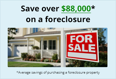 Save over $88,000 on a foreclosure